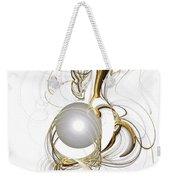 Gold And Pearl Weekender Tote Bag