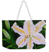 Gold Band Lily Weekender Tote Bag