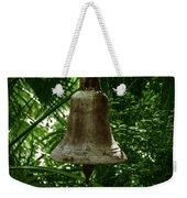Gold Bell Weekender Tote Bag