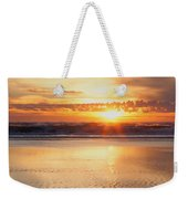 Gold Bluff Sunset Weekender Tote Bag