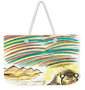 Gold Coins At The End Of  Rainbows Weekender Tote Bag