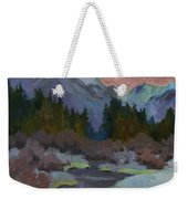 Gold Creek Snoqualmie Pass Weekender Tote Bag