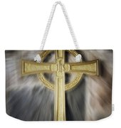 Gold Cross Weekender Tote Bag
