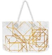 Gold Cubed II Weekender Tote Bag