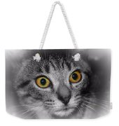 Gold Eyes Weekender Tote Bag