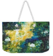 Gold Fish Pond Weekender Tote Bag