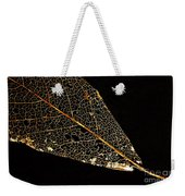 Gold Leaf Weekender Tote Bag