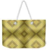 Gold Metallic 14 Weekender Tote Bag
