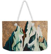 Gold Mountain Weekender Tote Bag