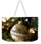 Gold Ornament Weekender Tote Bag