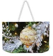 Gold Ornament Weekender Tote Bag