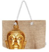 Gold Painted Buddha Statue Weekender Tote Bag