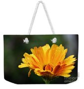 Gold Petals Weekender Tote Bag