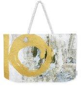 Gold Rush - Abstract Art Weekender Tote Bag