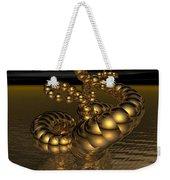 Gold Serpentine  Weekender Tote Bag