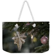 Gold Star Christmas Tree Ornament 4 Of 4 Weekender Tote Bag