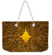 Gold Star Weekender Tote Bag
