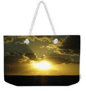 Gold Sunset Weekender Tote Bag