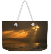 Gold Through The Clouds Weekender Tote Bag