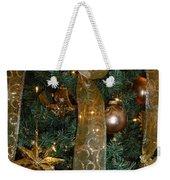 Gold Tones Tree Weekender Tote Bag