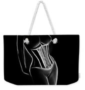 Golden 20s Girl Weekender Tote Bag