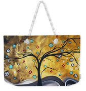 Golden Admiration By Madart Weekender Tote Bag