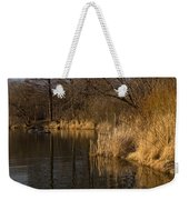 Golden Afternoon Reflections Weekender Tote Bag