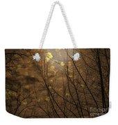 Golden Autumn Abstract Sky Weekender Tote Bag