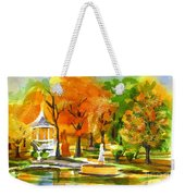 Golden Autumn Day 2 Weekender Tote Bag