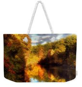 Golden Autumn Weekender Tote Bag by Joann Vitali