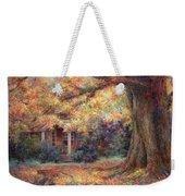 Golden Autumn Weekender Tote Bag