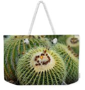 Golden Barrel Cactus Weekender Tote Bag