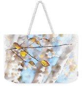 Golden Birch Weekender Tote Bag