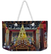 Golden Buddha Weekender Tote Bag