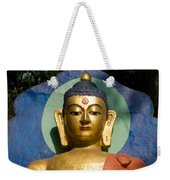 Golden Buddha Weekender Tote Bag by Nila Newsom