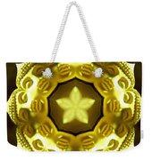 Golden Buddha Star Weekender Tote Bag