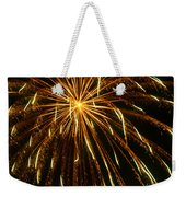 Golden Burst Weekender Tote Bag