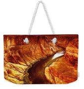Golden Canyon Weekender Tote Bag