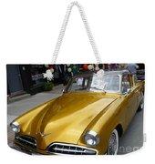 Golden Car Weekender Tote Bag