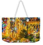Golden Castle Weekender Tote Bag