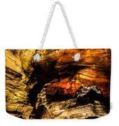 Golden Caverns Weekender Tote Bag