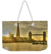 Golden City Weekender Tote Bag