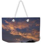 Golden Cloud Sunset Weekender Tote Bag
