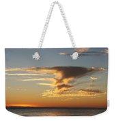Golden Clouds And Blue Sky Weekender Tote Bag