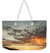 Golden Clouds At Grand Anse Weekender Tote Bag