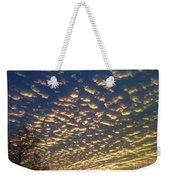 Golden Clouds Weekender Tote Bag