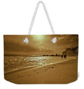 Golden Coast Sunset Weekender Tote Bag