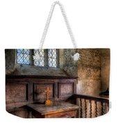 Golden Cross Weekender Tote Bag by Adrian Evans