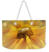 Golden Crown - Rudbeckia Flower Weekender Tote Bag