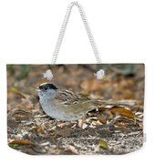 Golden-crowned Sparrow Weekender Tote Bag
